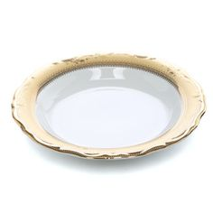 <strong>Ten Strawberry Street</strong> Vanessa Gold 8 Oz. Soup Bowl (Set of 6)