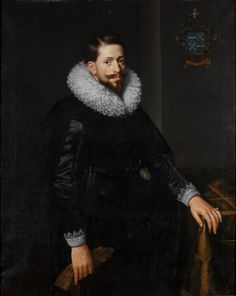 Portrait of Antoine van Hilten Paulus Moreelse Dutch, 1571-1638 Portrait of Antoine van Hilten, 1625 Oil on canvas 60.110