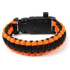 5 Functions in 1 Outdoor Survival Rope Emergency Bracelet #women, #men, #hats, #watches, #belts, #fashion, #style