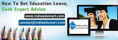 All-round information on education loans in India is given; higher educational loans (student education loans) are great boon for higher studies. India Education, Interest Rates, Student Loans, Higher Education, Anxious, Banks, Students, How To Get, Number