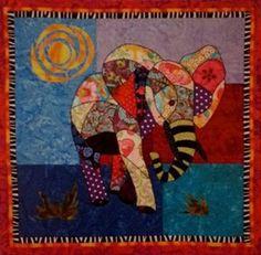 BJ Designs & Patterns Ellie Elephant Applique Quilt Pattern