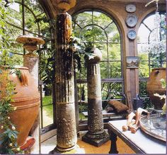 Michael Trapp...great use of architectural salvage