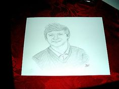 NIALL HORAN/ONE DIRECTION/ PENCIL DRAWING