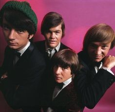 The Monkees Mickey Dolenz, Peter Tork, Davy Jones & Mike Nesmith