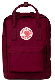 The Kanken Laptop 13 is a laptop backpack – Fjällräven Best Laptop Backpack, Computer Backpack, Computer Bags, Cute Backpacks For School, Cool Backpacks, Mochila Kanken, Kanken Backpack, Bordeaux, Laptop Storage