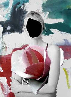 """culturenlifestyle: """"Sophisticated Floral Photo Collages Spanish artist Ernesto Artillo composes stunning surreal collages combining editorial and fashion photography with floral insertions. Art Du Collage, Surreal Collage, Mixed Media Collage, Collage Artists, Photomontage, Fashion Collage, Fashion Art, Fashion Design, Ernesto Artillo"""