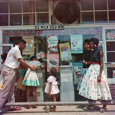 At Segregated Drinking Fountain. Mobile, 1956. Gordon Parks's Alternative Civil Rights Photographs - NYTimes.com
