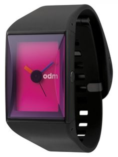 "https://www.cityblis.com/2069/item/15398 | DD132-3 - $95 by odm | odm DD132 POP series completely embodies the spirit of ""POP ART"": unconventional, dazzling, creative and modern. A series of complete transformation of a simple watch into three different designs. Application of the ""POP ART"" series is by utilizing dazzling colors and geometric s... 