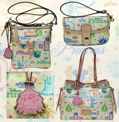 Definitely saving up for one of these when we go! Dooney & Bourke Disney Princess Half Marathon bags