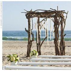 ♥ Beach ceremony