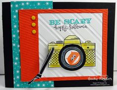Back To Regular Scheduled Programming....Freaky Friends & Snapshot stamp sets with Motley Monsters Designer Series Paper and On Film Framelits.