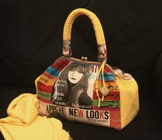 Bolsa Baú New Looks - handmade by Costura Xtrodnária