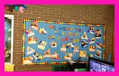 The School Counselor's Chronicle: We Went To College So Can You!  Cool idea!!