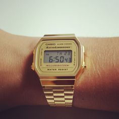 Casio gold watch http://neonwatch.tumblr.com/post/101744918811/great-deal-on-the-vaporware-golden-casio-at