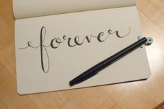 """How To: Fake Calligraphy 