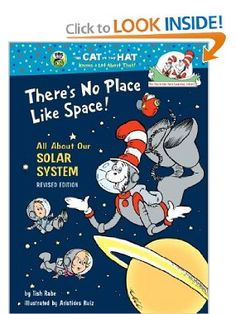 There is nothing like learning about something real yet so seemingly imaginary as outter space to inspire creativity and innovation and this Cat in the Hat book is a great one, I used to read it all the time with the preschoolers at Bella Mente and it inspired many thought provoking and intellectual conversations :)