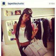 0466c46cfd4 Black Girl Magic, Black Girls, Pretty Girl Swag, Teyana Taylor, Beautiful  Celebrities