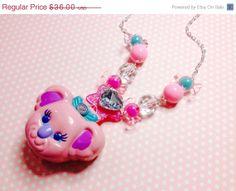 Kawaii Sweet Secrets Koala Bear Necklace Rare by NiftyVintageGirl, $28.80