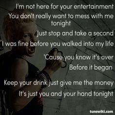 fun and pink learn to love again lyrics