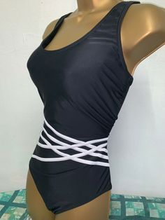 888e2e5e1fd4d SEXY LADIES GEORGE BLACK PADDED TUMMY CONTROL SWIMSUIT SIZE 14 #fashion  #clothing #shoes #accessories #womensclothing #swimwear (ebay link)