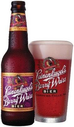 Leinenkugel's Berry Weiss- one of the highest calorie beers out there but ohhh so good