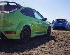 MK2 or MK3  Hulk or Smurf  Photo via @nevanpeacock  #Ford #FocusRS #ExoticSpotSA #SouthAfrica #HotHatch