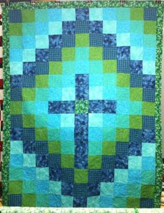 Image result for Church Cross Quilt Block Pattern