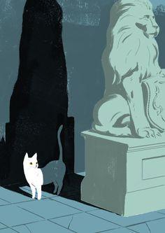 https://www.behance.net/gallery/15969011/Miss-Minoes #illustration