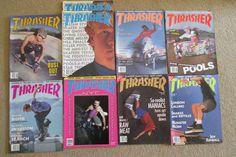 thrasher skateboard #magazine wholesale lot rare 1987 1989 from $89.99