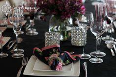 Jantar com charme e castiçais de cristal - por Patricia Junqueira Quer Receber Bem? Acesse: http://www.patriciajunqueira.com.br