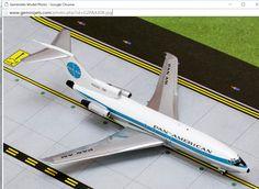 1/200 GeminiJets Pan Am Boeing 727-100 Diecast Model