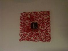 Ružové hodiny Diys, Home Decor, Decoration Home, Bricolage, Room Decor, Diy, Do It Yourself, Interior Decorating