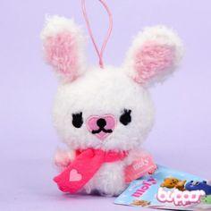Mofy Bunny Mini Plush with scarf