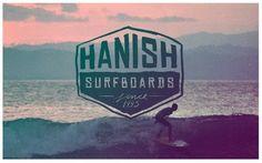 Hanish Surfboards Logo 2