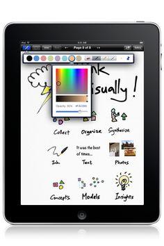Inkflow on the iPad- Brainstorming