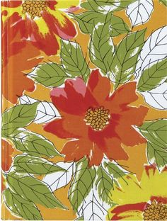 Flowers and Leaves Notebook.
