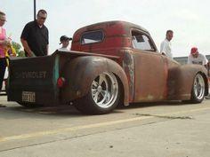Rodded Chevy.