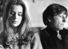 AMSTERDAM, 1st JANUARY 1979: Roman Polanski appears with Nastassja Kinski at a press reception to promote his film Tess. (Photo by Gijsbert Hanekroot)