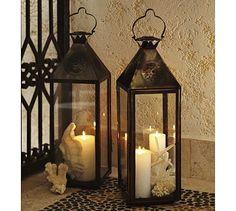 Fez Star Lanterns #potterybarn