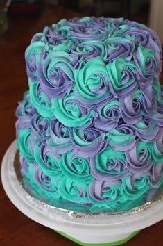 13th Birthday Cake For Girls Purple Cakes Kids Teen