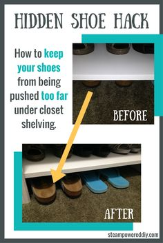 Hidden Shoe Hack to