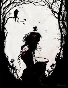 Dark Alice in wonderland