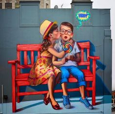 """Love is in the Air"" by Natalia Rak in Dunedin, New Zealand, 5/15 (LP)"