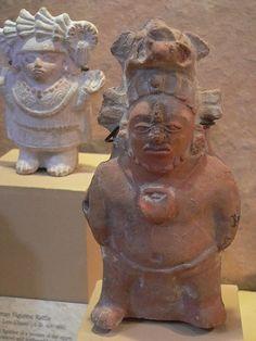 Maya figurines Late Classic Period 600-900 CE (4)