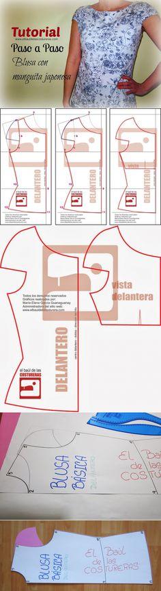 ШИТЬЕ И КРОЙ ДЛЯ ПОЛНЫХ ЖЕНЩИН - buen juego buen Sewing Hacks, Sewing Tutorials, Sewing Projects, Techniques Couture, Sewing Techniques, Pattern Cutting, Pattern Making, Dress Sewing Patterns, Clothing Patterns
