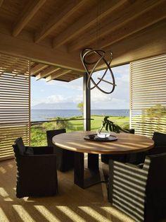 Board Formed Concrete, Concrete Wall, Teak Flooring, Hawaii Homes, Design Strategy, Sliding Glass Door, Architect Design, Sustainable Design, Maui Beach
