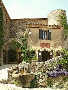 "Tourtour. One of the official ""Most beautiful villages in France."""