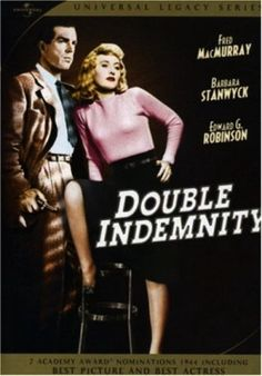 Double Indemnity is justifiably considered one of the great film noirs