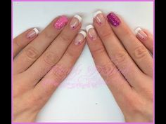 Semipermanente - french bianco classico e nail art || Madda.fashion - YouTube