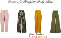 Trousers for Hourglass Body Shape